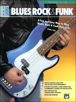 TAB Licks: Blues, Rock and Funk