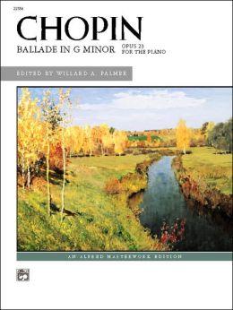 Ballade in G Minor