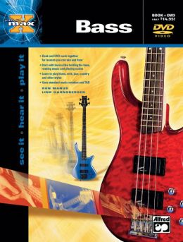 Alfred's MAX Bass: Book & DVD
