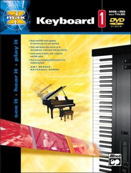 Alfred's MAX Keyboard, BK 1: Book & DVD
