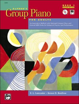 Alfred's Group Piano for Adults Student Book, Bk 1
