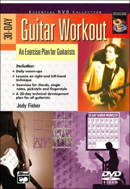 30-Day Guitar Workout: An Exercise Plan for Guitarists, DVD