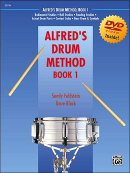 Alfred's Drum Method, Bk 1: Book & DVD (Sleeve)