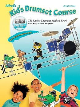 Alfred's Kid's Drumset Course: Book & CD
