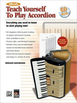 Alfred's Teach Yourself to Play Accordion: Book & CD