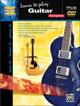 Alfred's MAX Guitar Complete: Book & DVD (Sleeve)