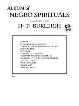 Album of Negro Spirituals: Low Voice, Book & CD