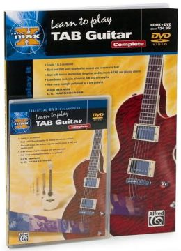 Alfred's MAX TAB Guitar Complete: Book & DVD (Hard Case)