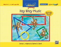 This Is Music! Preschool, Vol 1: Itsy Bitsy Music, Book & CD