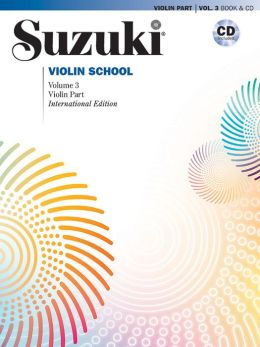 Suzuki Violin School, Vol 3: Violin Part, Book & CD