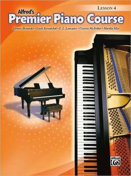 Premier Piano Course Lesson Book, Bk 4