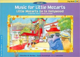 Music for Little Mozarts: Little Mozarts Go to Hollywood, Pop Book 3 & 4 - 10 Favorites from TV, Movies and Radio