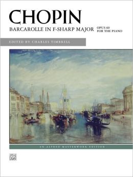 Barcarolle in F# Major, Op. 60