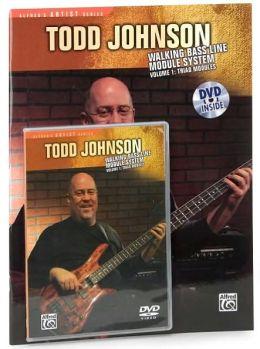 Todd Johnson Walking Bass Line Module System, Vol 1: Triad Modules, Book & DVD