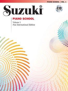 Suzuki Piano School, Vol 1: Book & CD