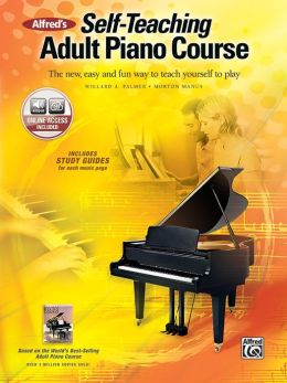 Piano books for self teaching french