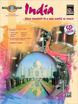 Drum Atlas India: Your passport to a new world of music, Book & CD