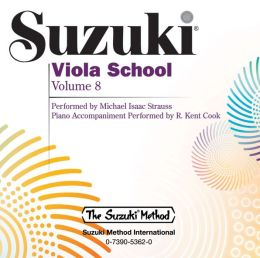Suzuki Viola School, Vol 8