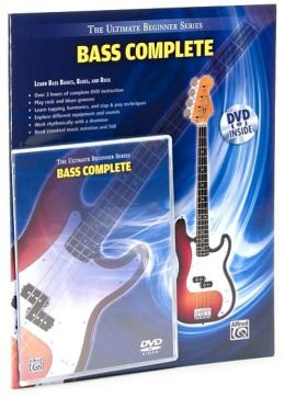 Ultimate Beginner -- Bass Complete: Book & DVD (Hard Case)