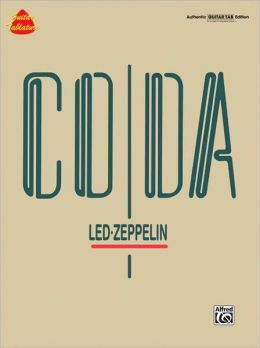 Led Zeppelin -- Coda: Authentic Guitar TAB