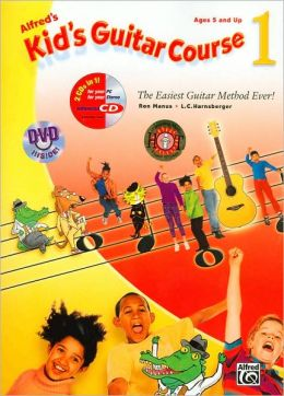 Kid's Guitar Course 1: Book, Enhanced CD & DVD