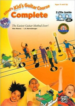 Kid's Guitar Course Complete: Book, Enhanced CD & DVD