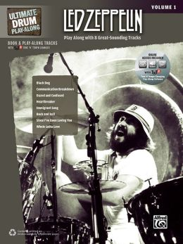 Ultimate Drum Play-Along Led Zeppelin, Vol 1: Authentic Drum, Book & 2 CDs