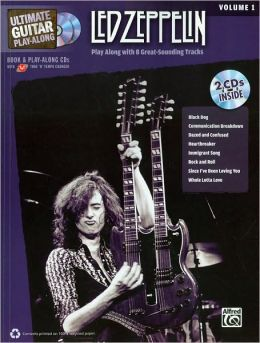 Ultimate Guitar Play-Along Led Zeppelin, Vol 1: Authentic Guitar TAB, Book & 2 CDs