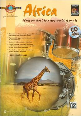 Drum Atlas Africa: Your passport to a new world of music, Book & CD
