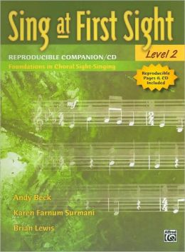 Sing at First Sight, Level 2: Reproducible Companion/CD - Foundations in Choral Sight-Singing