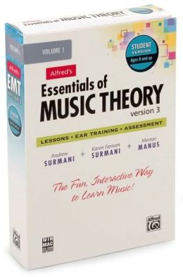 Essentials of Music Theory Software, Version 3.0, Vol 1: Student Version, Software