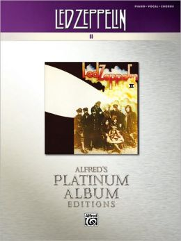 Led Zeppelin II Platinum: Piano/Vocal/Chords