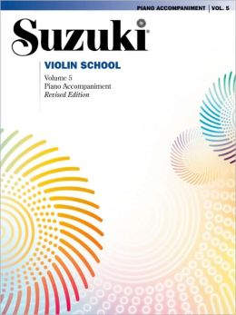 Suzuki Violin School, Vol 5: Piano Acc.