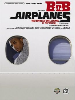 Airplanes: Piano/Vocal/Guitar, Sheet