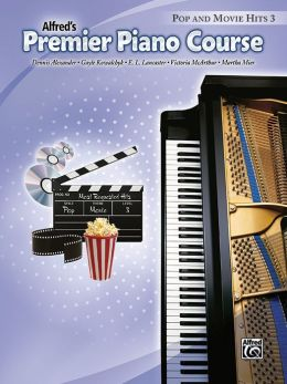 Premier Piano Course Pop and Movie Hits, Bk 3