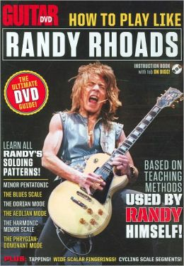 Guitar World -- How to Play Like Randy Rhoads: The Ultimate DVD Guide -- Based on Teaching Methods Used by Randy Himself!, DVD