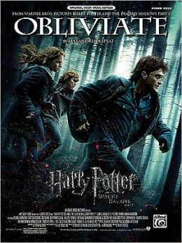 Obliviate (from Harry Potter and the Deathly Hallows, Part 1): Piano Solo, Sheet