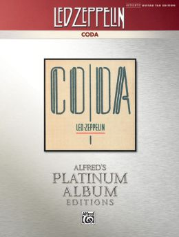 Led Zeppelin -- Coda Platinum Guitar: Authentic Guitar TAB