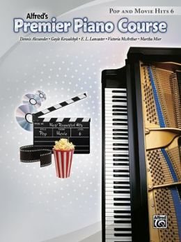 Premier Piano Course Pop and Movie Hits, Bk 6
