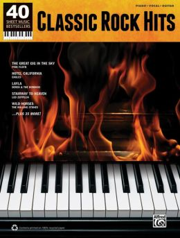 40 Sheet Music Bestsellers -- Classic Rock: Piano/Vocal/Guitar