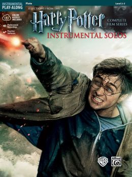 Harry Potter Instrumental Solos: Flute, Book & CD