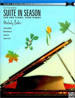 Suite in Season: For One Piano, Four Hands, Sheet