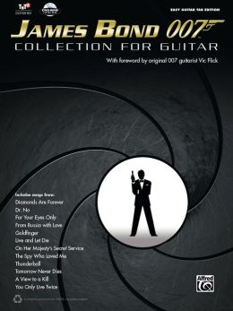 James Bond 007 Collection for Guitar: Easy Guitar Tab, Book & DVD-ROM