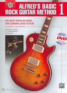 Alfred's Basic Rock Guitar, Bk 1: The Most Popular Series for Learning How to Play, Book & DVD