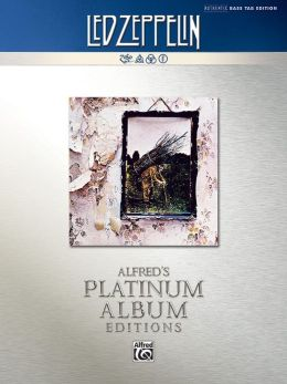 Led Zeppelin -- Untitled (IV) Platinum Bass Guitar: Authentic Bass TAB