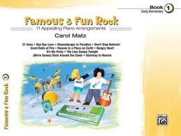 Famous & Fun Rock, Bk 1
