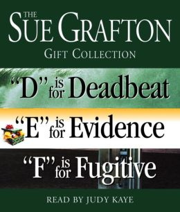 Sue Grafton DEF Gift Collection: D is for Deadbeat, E is for Evidence, F is for Fugitive
