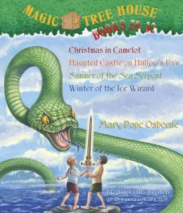 Magic Tree House: Christmas in Camelot; Haunted Castle on Hallows Eve; Summer of the Sea Serpent; Winter of the Ice Wizard