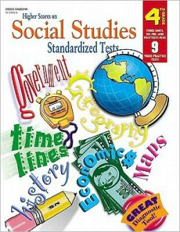Higher Scores on Social Studies Standardized Tests, Grade 4