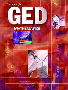 Steck-Vaughn GED Exercise Books: Student Workbook Mathematics